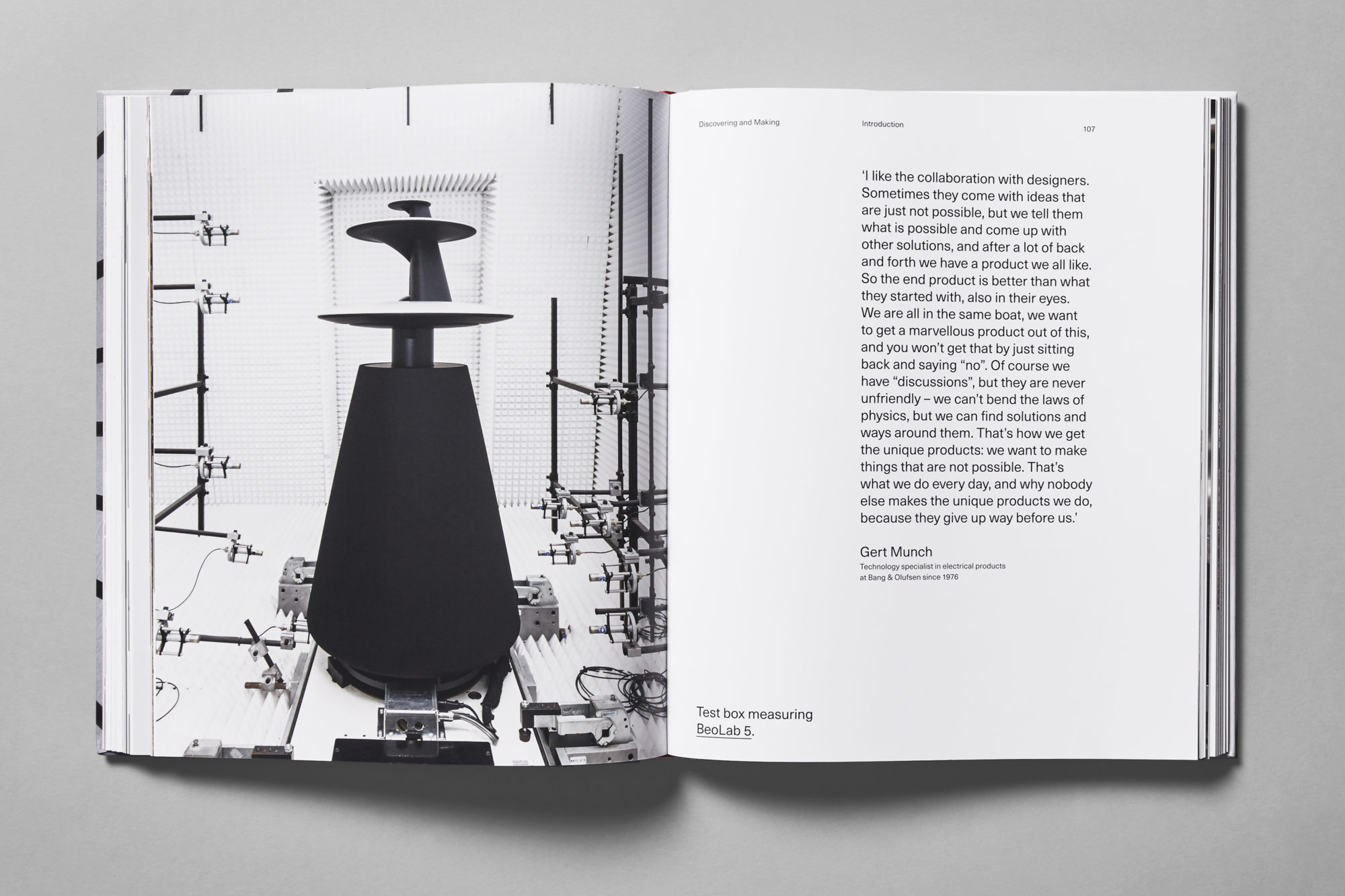 bang olufsen studio claus due graphic design studio copenhagen denmark. Black Bedroom Furniture Sets. Home Design Ideas
